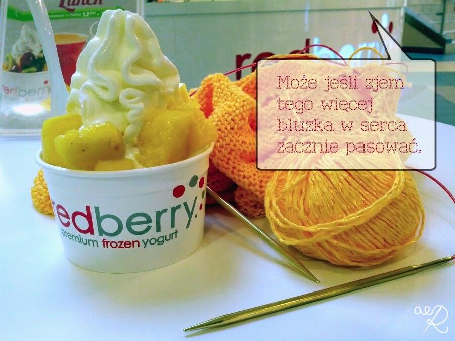 jogurt mrożony RedBerry