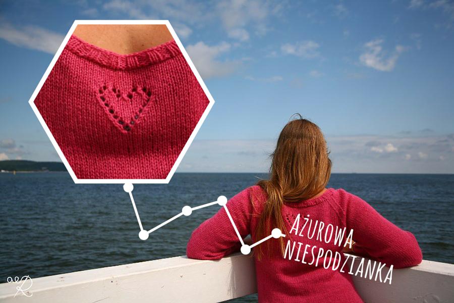 sweter w serca detal 3