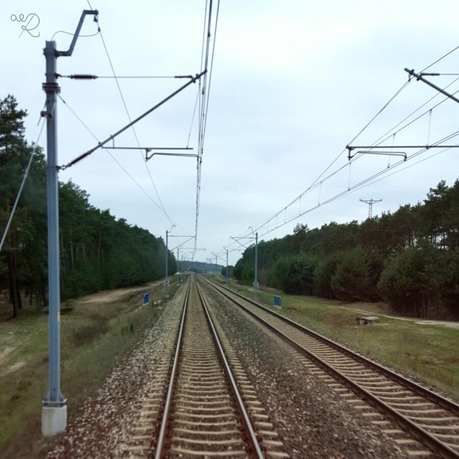 Chusta Arielka - pociąg