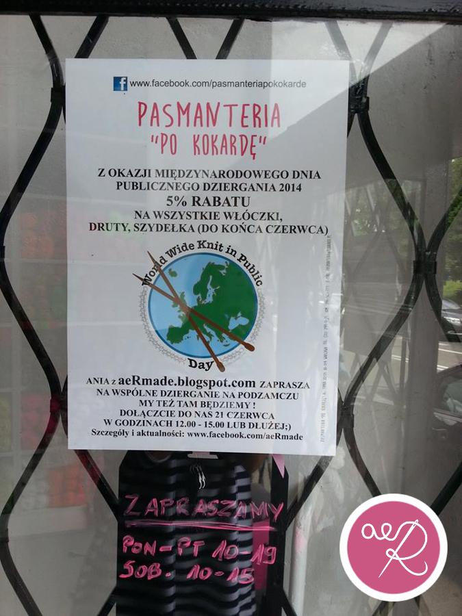 Międzynarodowy Dzień Publicznego Dziergania 2014 - 7