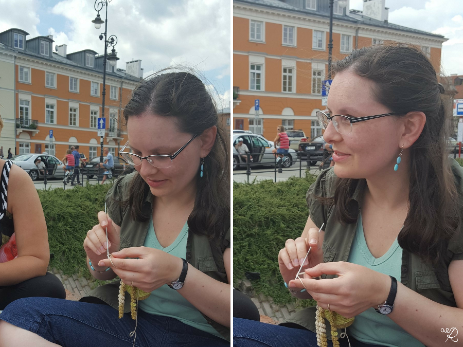 Miedzynarodowy Dzień Publicznego Dziergania 2016 Warszawa 12