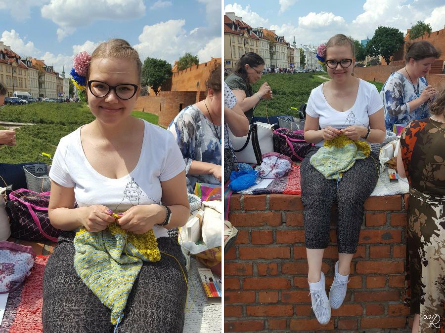Miedzynarodowy Dzień Publicznego Dziergania 2016 Warszawa 50