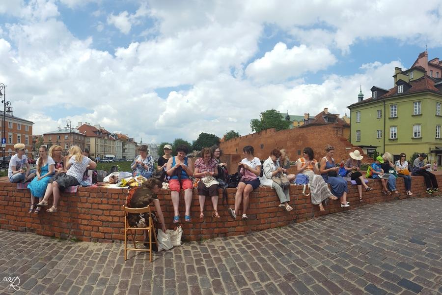 Miedzynarodowy Dzień Publicznego Dziergania 2016 Warszawa 5